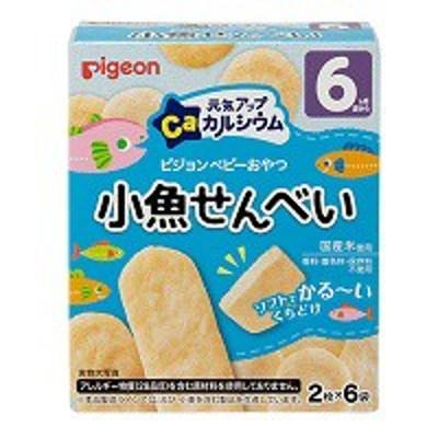 元気アップカルシウム 小魚せんべい 24g(2枚×6袋) ピジョン
