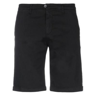 JEANSENG ショートパンツ&バミューダパンツ  メンズファッション  ボトムス、パンツ  ショート、ハーフパンツ ブラック
