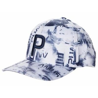 プーマ メンズ 帽子 アクセサリー Hacked P 110 Snapback Cap Bright White/Na