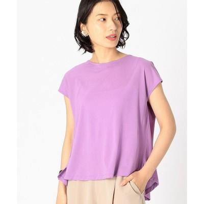 tシャツ Tシャツ 《ドライタッチ》 バックシャン ブラウスカットソー