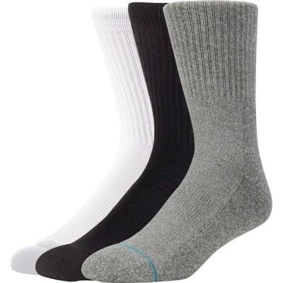 スタンス メンズ 靴下 アンダーウェア Icon Sock - 3-Pack
