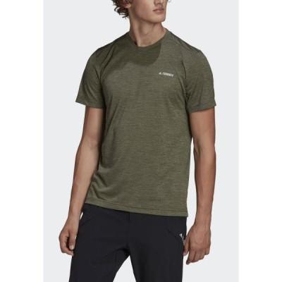 アディダス メンズ スポーツ用品 Basic T-shirt - green