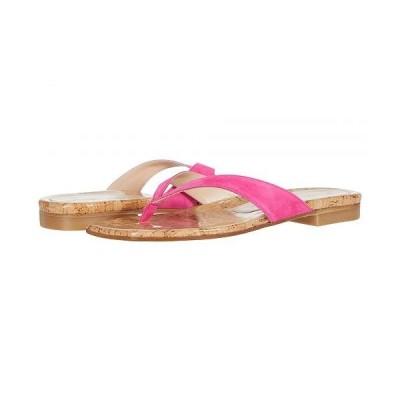 Stuart Weitzman スチュアートワイツマン レディース 女性用 シューズ 靴 サンダル Aldona - Peonia Suede/Cork