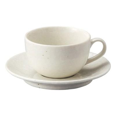 業務用食器 白粉引 カプチーノ碗 φ9×5.6cm(210�)