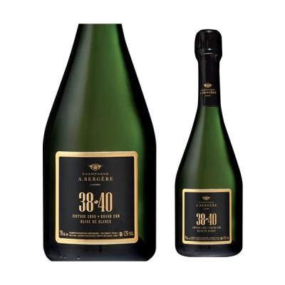 シャンパン スパークリングワイン A.ベルジェール キュヴェ 38-40 グランクリュ リミテッドエディション