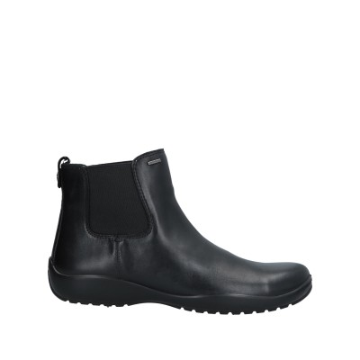 ジェオックス GEOX ショートブーツ ブラック 35 革 ショートブーツ