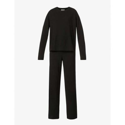 リフォーメーション REFORMATION レディース ニット・セーター トップス Relaxed-fit recycled cashmere-blend jumper BLACK