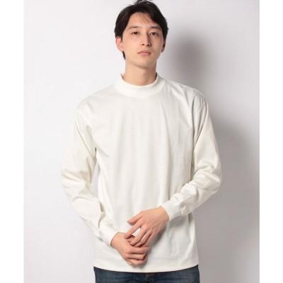 koe ハイゲージポンチモックネックプルオーバー(ホワイト)【返品不可商品】