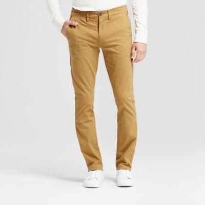 グッドフェロー Goodfellow & Co メンズ チノパン スキニー ボトムス・パンツ Skinny Fit Chino Pants - Light Brown