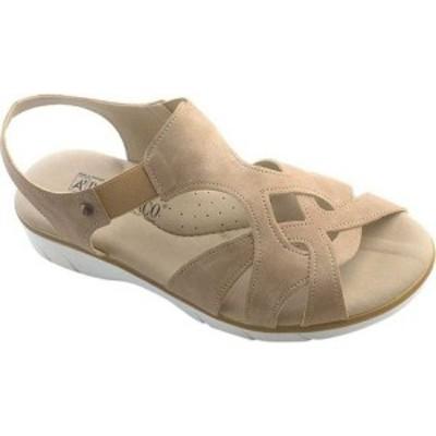 アルコペディコ Arcopedico レディース サンダル・ミュール シューズ・靴 Selfie T Strap Sandal Taupe Synthetic