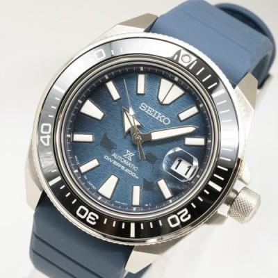 質イコー [セイコー] SEIKO 腕時計 プロスペックス ダイバー SBDY081 青文字盤 ラバー 自動巻 メンズ 中古 極美品