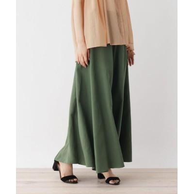 ZAMPA(ザンパ) ドレープギャザーAラインマキシスカート