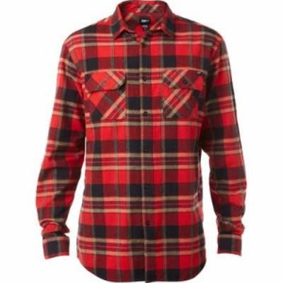 フォックス シャツ Glamper Flannel Shirt Red