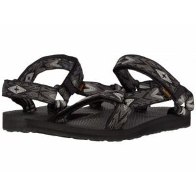 Teva テバ レディース 女性用 シューズ 靴 サンダル Original Universal Double Diamond Black Multi【送料無料】