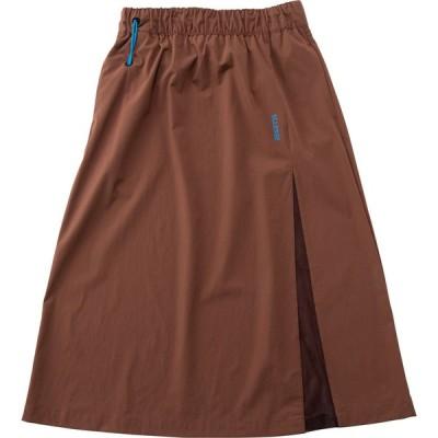 Ellesse エレッセ Nylon Skirt ナイロンスカート EHW221115 ブラウン