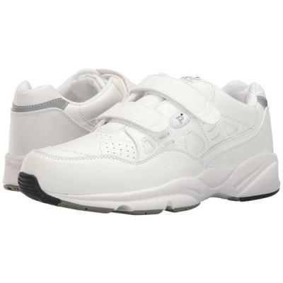 プロペット メンズ スニーカー シューズ・靴 Stability Walker Strap White