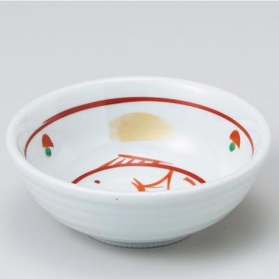 和食器 手描赤絵鯛 小鉢 ボウル カフェ 食器 陶器 おうち おしゃれ プチ ミニ 日本製