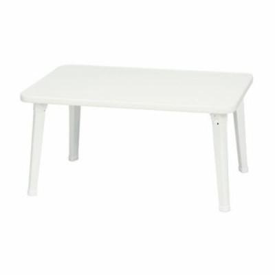 永井興産 NK-6040 ペイントテーブル ホワイト ホワイト テーブル ダイニング ローテーブル