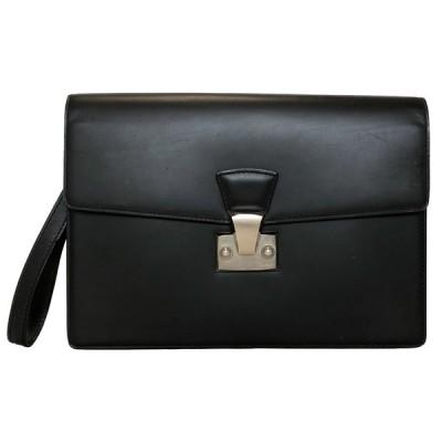 カルティエ セカンドバッグ パシャ レザー 黒 ブラック 2C L1000230 ハンドストラップ付 C2 メンズ ビジネスバッグ Cartier CARTIER 紳士