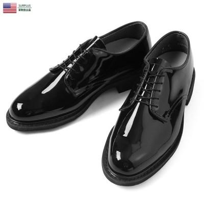 実物 新品 米軍 エナメル UNIFORM OXFORD オックスフォードシューズ デッドストック メンズ 紳士靴 エナメルシューズ 靴 革靴 ブーツ 軍用【クーポン対象外】