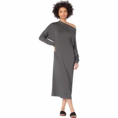 ノーマ カマリ KAMALIKULTURE by Norma Kamali レディース ワンピース ワンピース・ドレス All-In-One Dress To Midcalf Black/Grey
