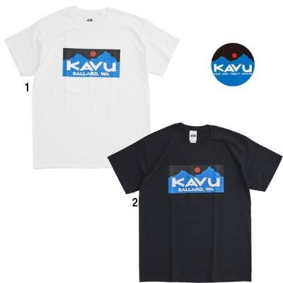 KAVU カブー メンズ バラードTee Tシャツ プリントTシャツ ボックスロゴ