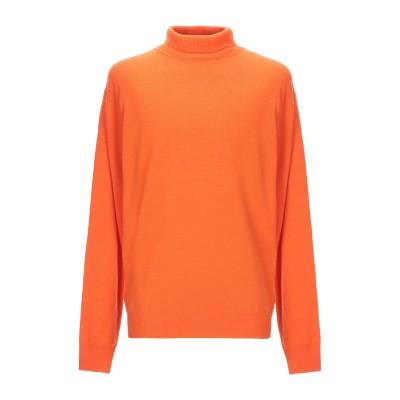 YOOX - CALVIN KLEIN JEANS タートルネック オレンジ XS ウール 90% / カシミヤ 10% タートルネック
