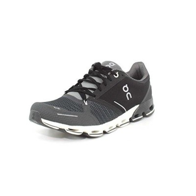 On Running Mens Cloudflyer Mesh Black White Trainers 11 US並行輸入品