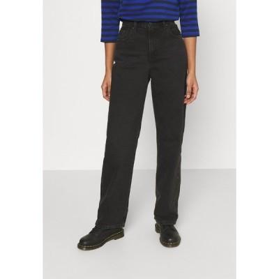 リーバイス デニムパンツ レディース ボトムス LOOSE STRAIGHT - Straight leg jeans - black soul