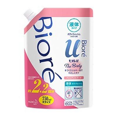 【花王】 ビオレu ザ ボディ The Body 液体タイプ ブリリアントブーケの香り つめかえ用 750mL 【日用品】