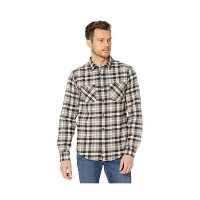 Timberland PRO ティンバーランド メンズ 男性用 ファッション ボタンシャツ Woodfort Flex Flannel Work Shirt - Black/Red Littleton Plaid
