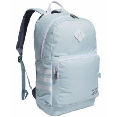 アディダス レディース バックパック・リュックサック バッグ Women's Classic 3 Stripe Backpack Halo Mint Green