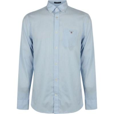 ガント Gant メンズ シャツ トップス Banker Stripe Shirt Pale Blue