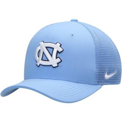 """メンズ キャップ """"North Carolina Tar Heels"""" Jordan Brand Performance Meshback Swoosh Flex Hat - Carolina Blue"""