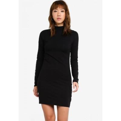 オベイ OBEY レディース パーティードレス ワンピース・ドレス UPTOWN DRESS BLACK