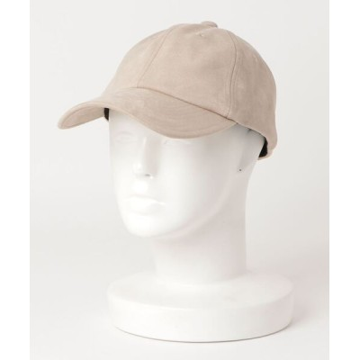 FREDY&GLOSTER / フェイクスエードキャップ MEN 帽子 > キャップ