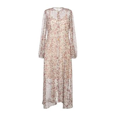 スーベニア SOUVENIR 7分丈ワンピース・ドレス アイボリー M ポリエステル 100% 7分丈ワンピース・ドレス