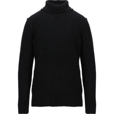 メッサジェリエ MESSAGERIE メンズ ニット・セーター トップス turtleneck Black