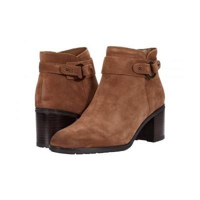 Naturalizer ナチュラライザー レディース 女性用 シューズ 靴 ブーツ アンクル ショートブーツ Lydia - Warm Oat Oil Suede