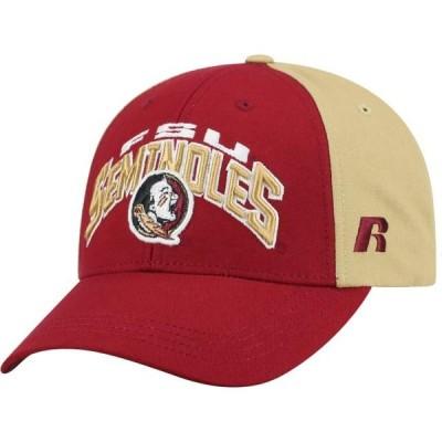 メンズ スポーツリーグ アメリカ大学スポーツ Men's Garnet/Gold Florida State Seminoles Tastic Adjustable Hat - OSFA 帽子