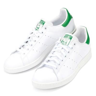 【アウトレット】【箱破れ】adidas Originals アディダス オリジナルス STAN SMITH M20324 スタンスミス メンズ スニーカー シューズ 靴 ホワイト 白 グリー