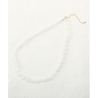 Couture brooch / デイジービーズチョーカー WOMEN アクセサリー > ネックレス
