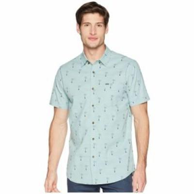 リップカール 半袖シャツ Riviera Short Sleeve Shirt Aqua
