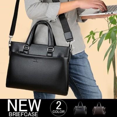 ビジネスバッグ メンズ  通勤 就活 高級 大きめ 出張 軽量 防水 レッド メンズバッグ プレゼント 2WAY 大容量 かばん 本革 40代 50代 ポイント消化