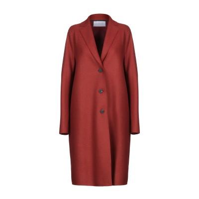 ハリス・ワーフ・ロンドン HARRIS WHARF LONDON コート 赤茶色 38 バージンウール 100% コート