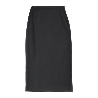 ヴァレンティノ VALENTINO ひざ丈スカート ブラック 38 バージンウール 98% / ポリウレタン 2% ひざ丈スカート
