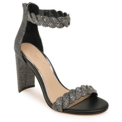 ジュウェルダグレイミシュカ サンダル シューズ レディース Fionne Glitter Embellished Sandal Pewter Glitter