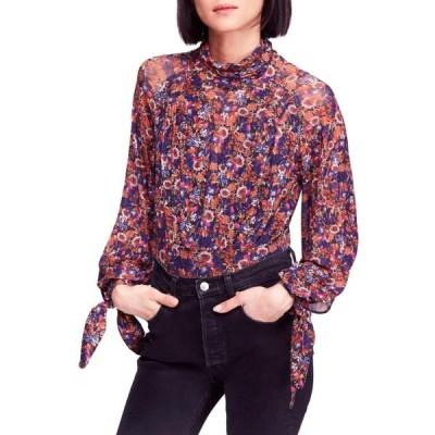 ユニセックス 衣類 トップス Free People | All Dolled up Floral Print Mock Neck Crop Top | Multi ブラウス&シャツ