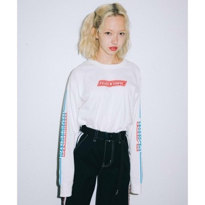 tシャツ Tシャツ X-girl × HYSTERIC GLAMOUR BOX L/S TEE