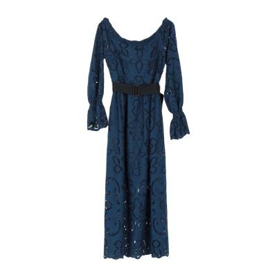PERSEVERANCE 7分丈ワンピース・ドレス ダークブルー 6 ポリエステル 100% 7分丈ワンピース・ドレス